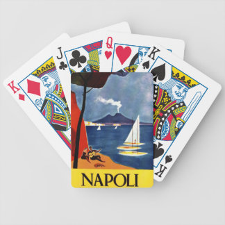 Vintage Napoli Travel Love Romance Bicycle Playing Cards