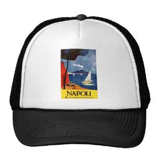 Vintage Napoli Travel Love Romance Trucker Hat