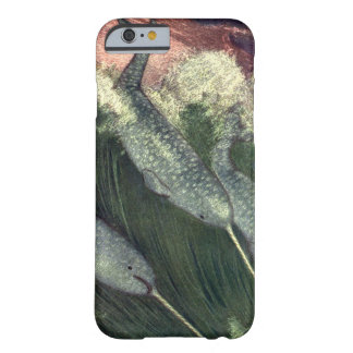 Vintage Narwhals Whales, Marine Life Ocean Animals Barely There iPhone 6 Case