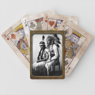 Vintage Native American Bannock Tribe   Playing Ca Bicycle Playing Cards