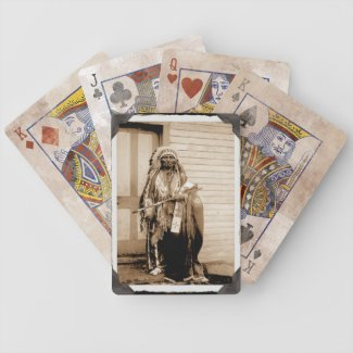 Vintage Native American Big Tobacco Playing Cards