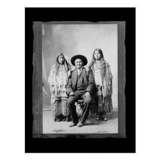 Vintage Native American Geronimo Postcard