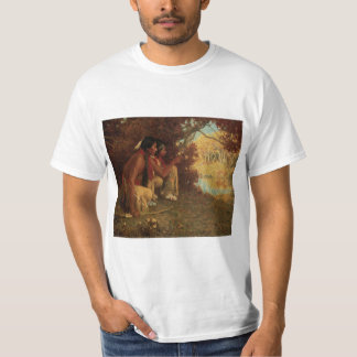 Vintage Native American, Hunting for Deer by Couse T-Shirt