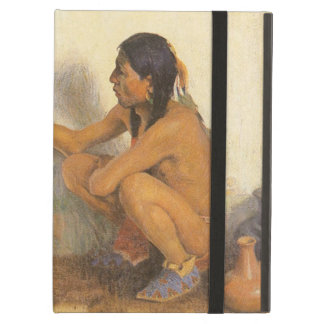 Vintage Native American, Indian Artist by Couse iPad Air Cases