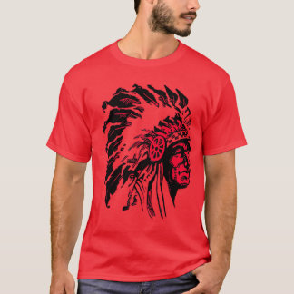 Vintage Native American Indian Chief T-Shirt