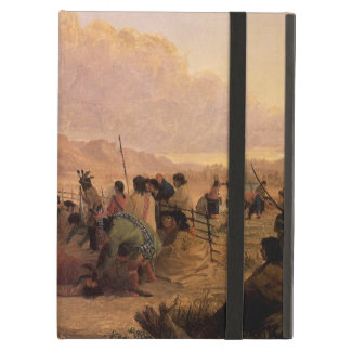Vintage Native American, Medicine Dance by Eastman Case For iPad Air