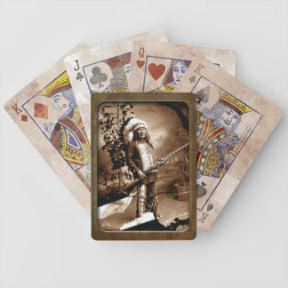Vintage Native American  Playing Cards
