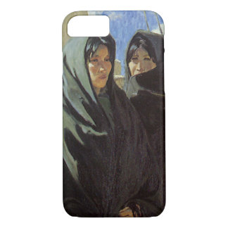 Vintage Native American, Taos Girls by Walter Ufer iPhone 7 Case
