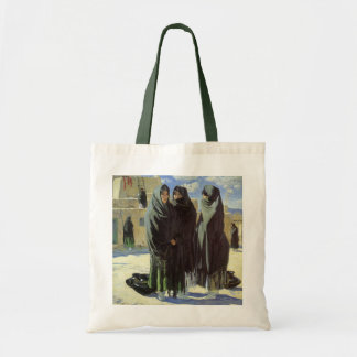 Vintage Native American, Taos Girls by Walter Ufer Tote Bag