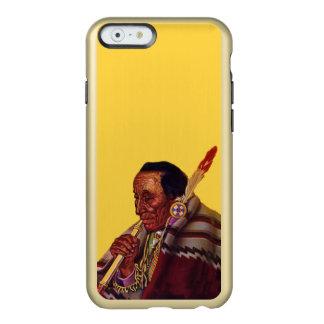 Vintage Native American Warrior Peace Pipe Incipio Feather® Shine iPhone 6 Case