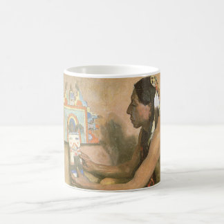 Vintage Native Americans, Hopi Katchina by Couse Coffee Mug