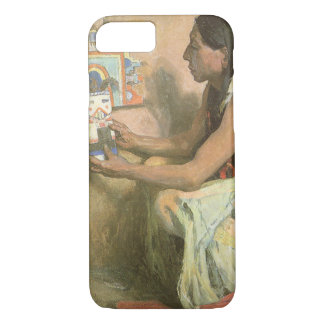 Vintage Native Americans, Hopi Katchina by Couse iPhone 7 Case