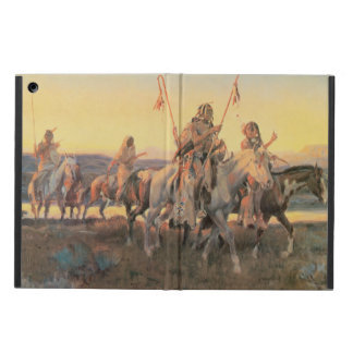 Vintage Native Americans, Piegans by CM Russell Case For iPad Air