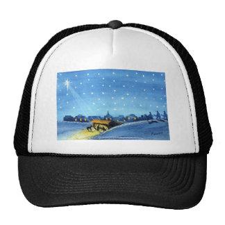 Vintage Nativity Art Hat