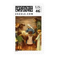 Nativity Scene Stamps