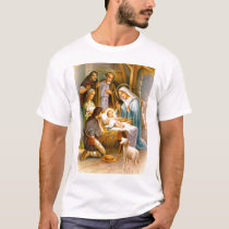 Vintage nativity scene T-Shirt