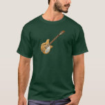 Vintage natural electric guitar T-Shirt