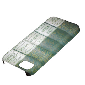 Vintage Nature Library Spines iPhone Cover