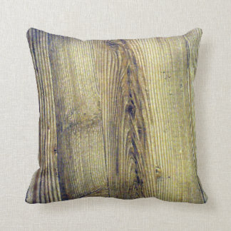 Vintage Nature Woodgrain Pillow
