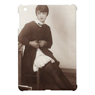 Vintage Naughty School Girl Cover For The iPad Mini