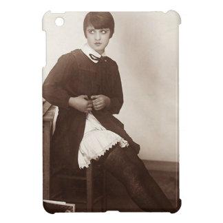 Vintage Naughty School Girl iPad Mini Covers