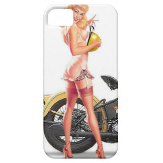 Vintage Naughty Sexie Pin Up Girl iPhone SE/5/5s Case