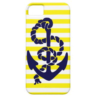 Vintage Nautical Anchor iPhone 5 Cases