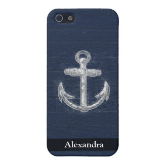 Vintage Nautical Anchor iPhone 5 Case