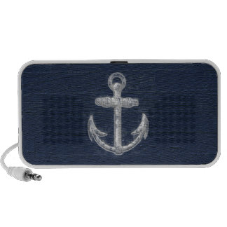 Vintage Nautical Anchor Travelling Speakers