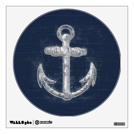 Vintage Nautical Anchor Wall Sticker