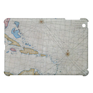 Vintage Nautical Chart Of The Caribbean iPad Mini Covers