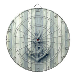 Vintage nautical classy anchor dartboards