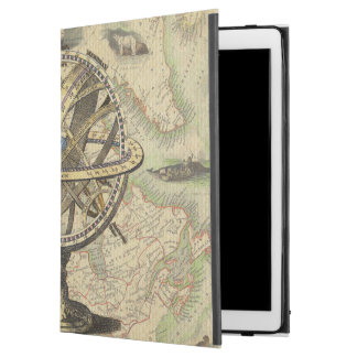 Vintage Nautical Compass and Map iPad Pro Case