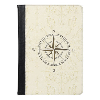 Vintage Nautical Compass Ivory iPad Air Case
