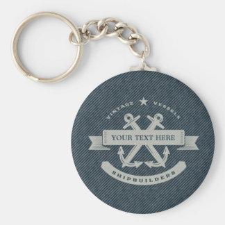 Vintage Nautical Key Chains