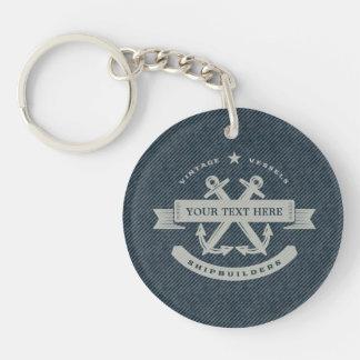 Vintage Nautical Keychain
