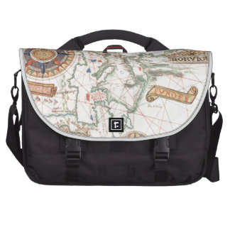 Vintage Nautical Map Products Laptop Bags
