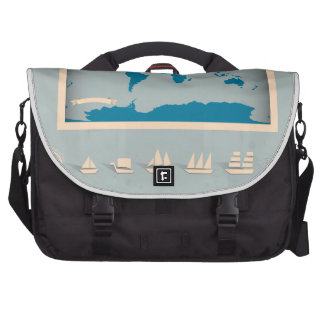 Vintage Nautical Map Products Laptop Bag