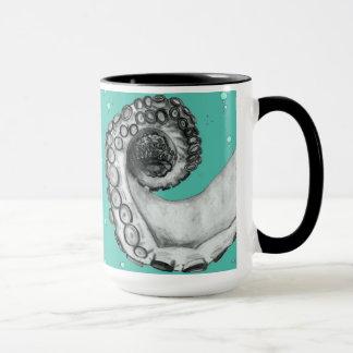 Vintage Nautical Octopus Tattoo Style Art Mug