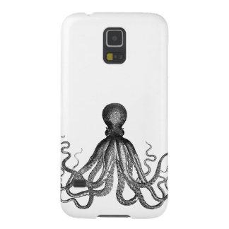 Vintage náutico antiguo Kraken del pulpo de Funda Galaxy S5