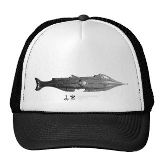 Vintage_Nautilus_01 Mesh Hats