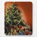 Vintage: Navidad - Alfombrilla De Raton