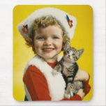 Vintage: Navidad - Alfombrilla De Ratones