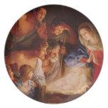 Vintage: Navidad - Plato Para Fiesta