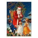 Vintage: Navidad - Tarjeton