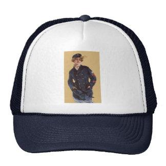 Vintage Navy Girl Howard Chandler Christy Trucker Hat