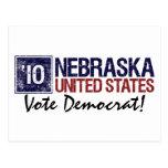 Vintage Nebraska de Demócrata del voto en 2010 - Tarjetas Postales