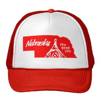 """Vintage Nebraska gorra """"de la buena vida"""""""