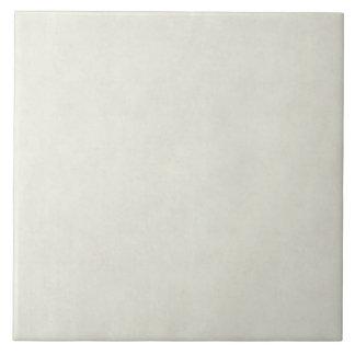 Vintage Neutral Parchment Antique Paper Template Ceramic Tile