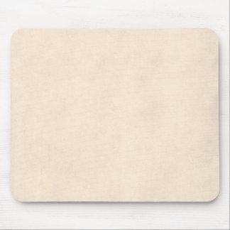 Vintage Neutral Parchment Beige Antique Paper Temp Mouse Pad